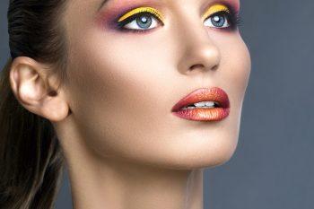 Makeup fyld foto af Maiken Trankjær